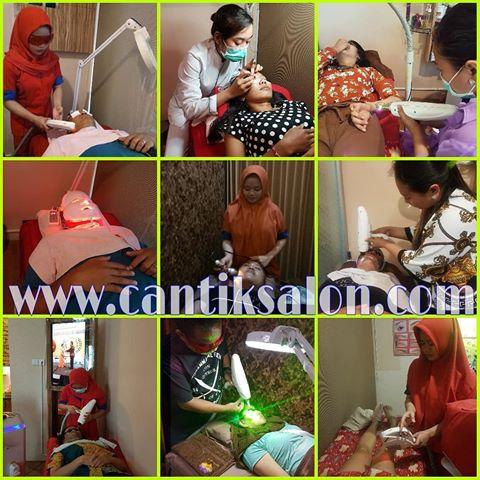 Setrika wajah CanTik salon Bali